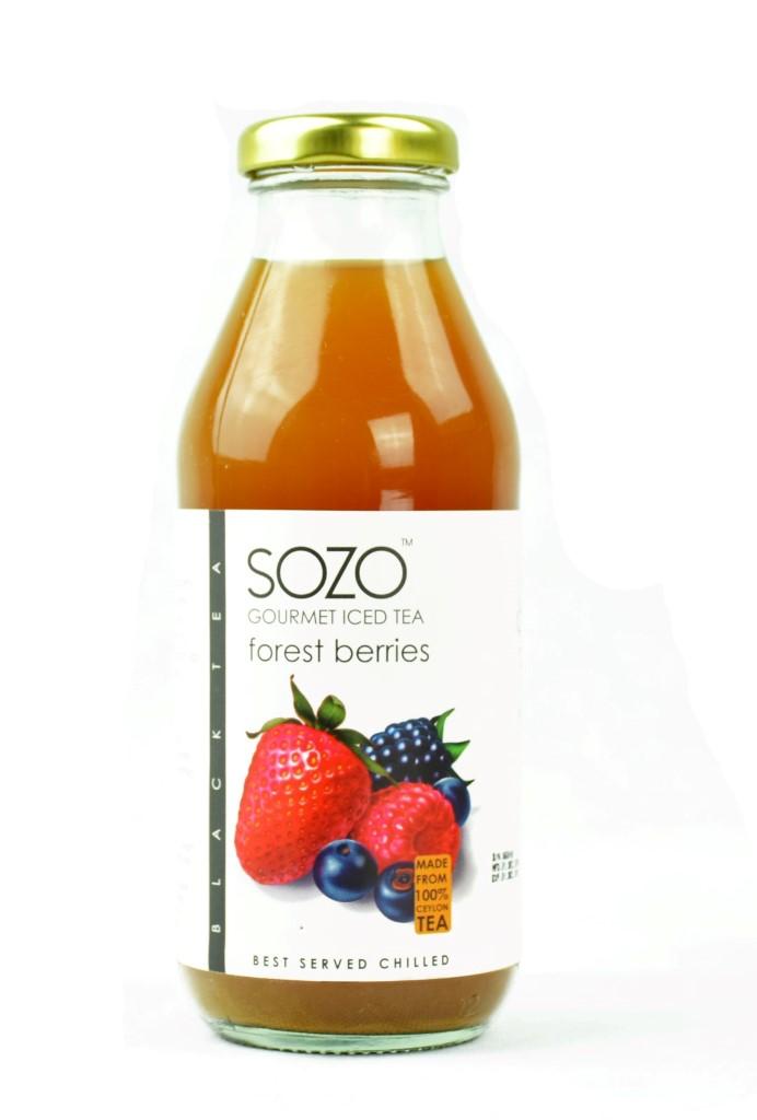 SOZO Forest Berries Iced Tea 350ml