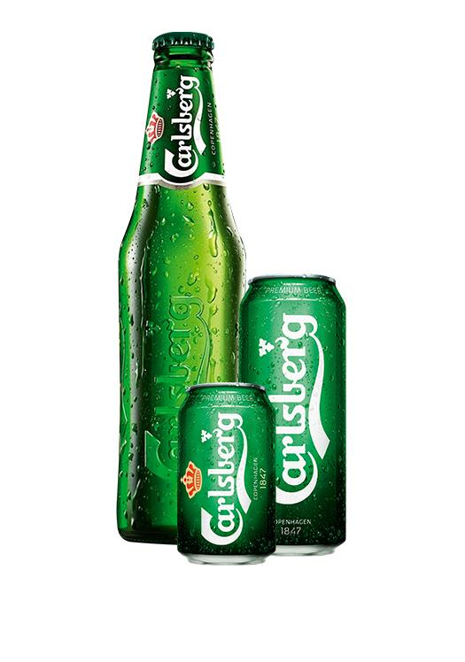 Carlsberg (Available in different sizes)
