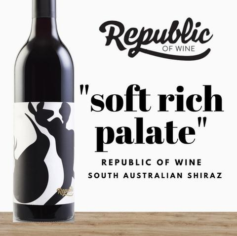 Republic of Wine Shiraz 750ml