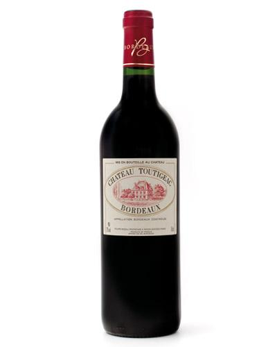 Chateau Toutigaec Bordeaux Rouge 750ml